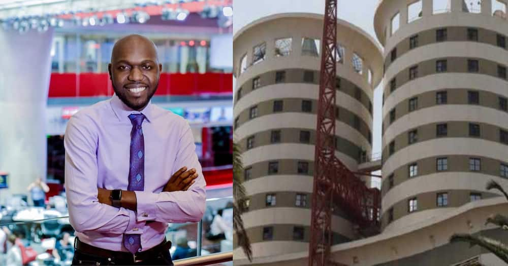 Former NTV journalist and news anchor Larry Madowo, currently CNN correspondent.