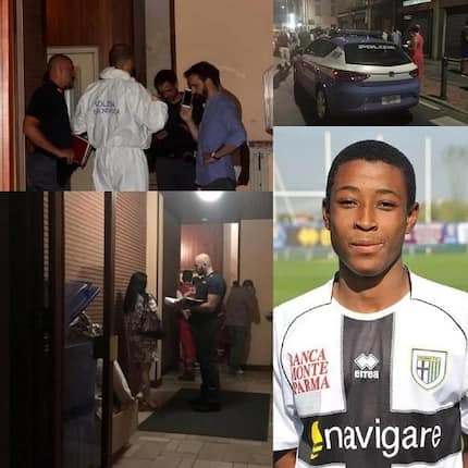 "Ghanaian footballer arrested in Italy for allegedly ""offing"" his mother and sister"