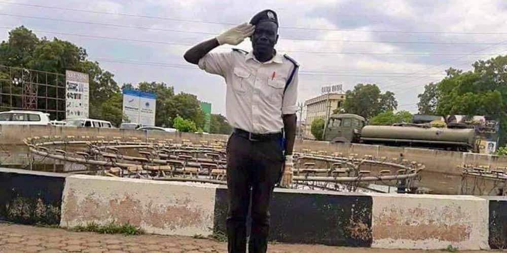 South Sudanese socialite gifts car to traffic policeman for his diligent work