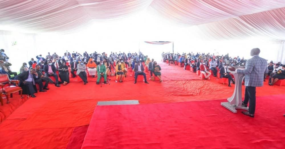 Kumpinga Rais Uhuru itatumaliza kwenye safari ya 2022, DP Ruto awaambia wandani