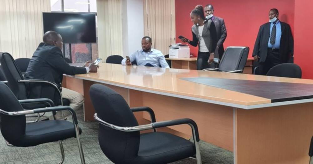 DP Ruto atembelea Makao Makuu ya Jubilee baada ya muda mrefu
