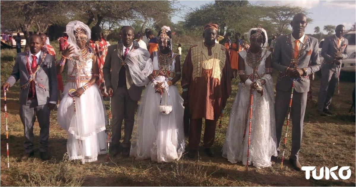 3 Kajiado brothers wed the same day