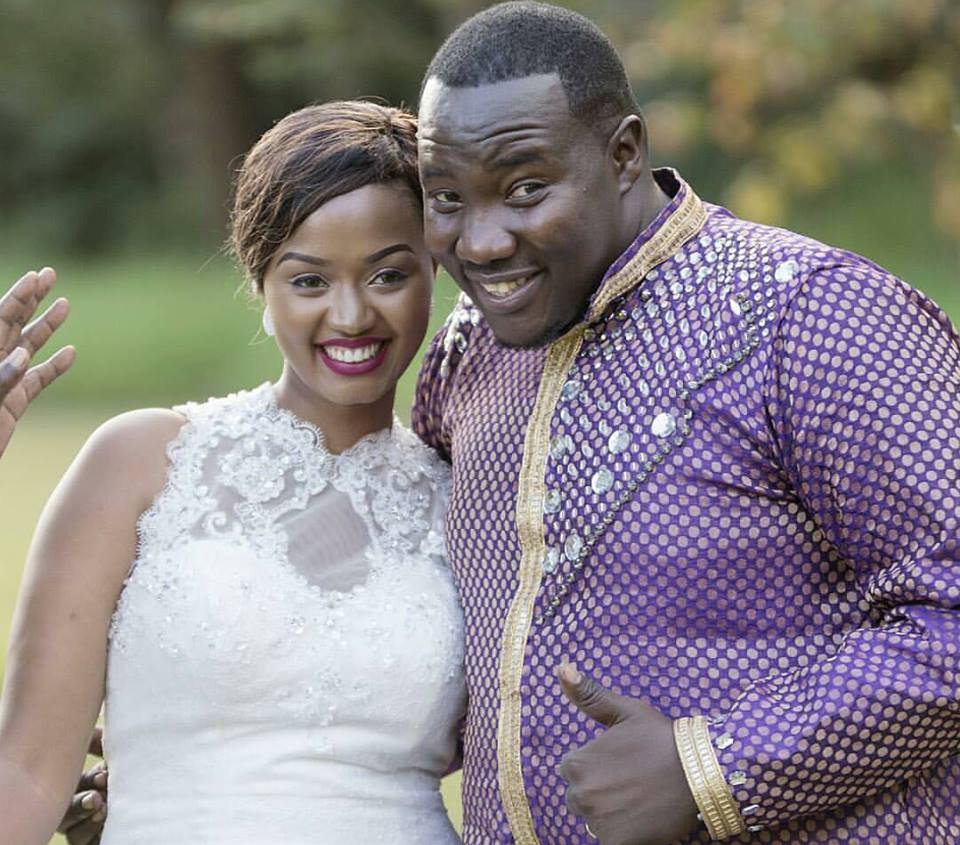 Image result for willis raburu and wife