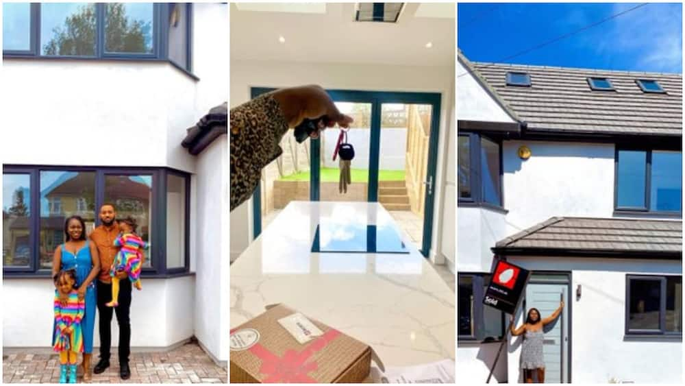 Nigerian Family Makes It Abroad, Buys 4 Bedroom House in London, Video Shows Beautiful Interior