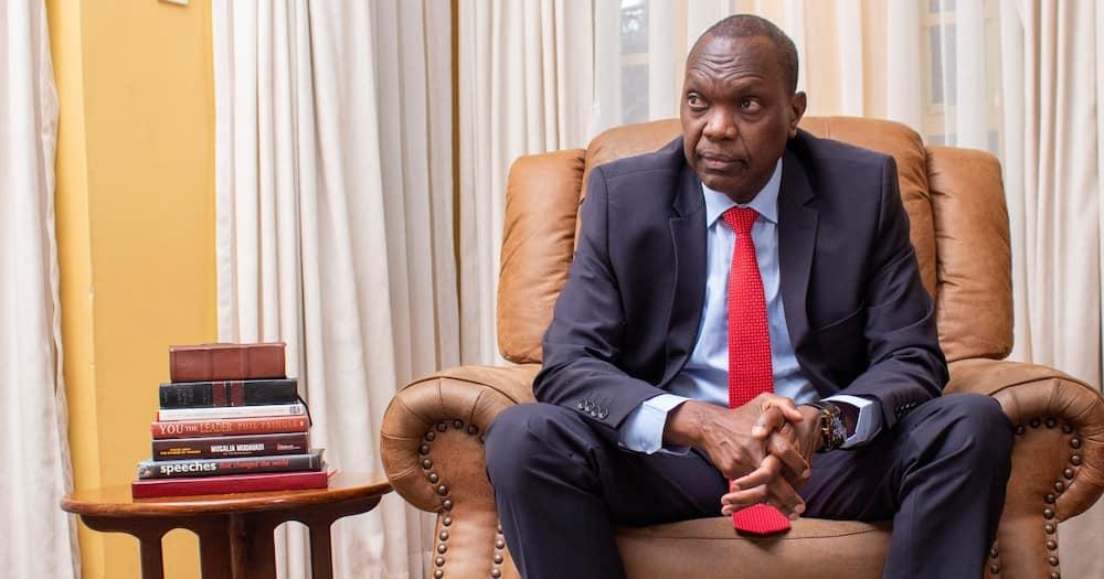 Jeremiah Kioni said Uhuru won't decide who Kenyans will vote for.