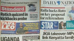 Kenyan newspapers review for February 20: CS Rotich in trouble as KSh 40 billion goes missing