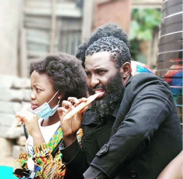 Maria actor Father Ezekiel can't hide happiness after meeting excited young fan