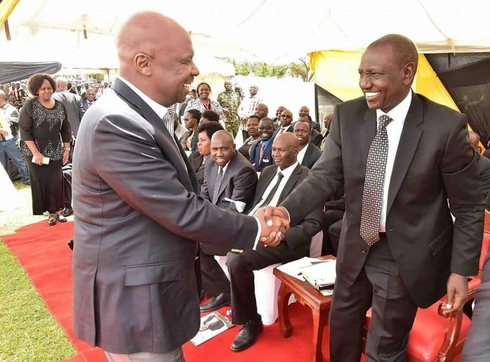 Gideon Moi's ally William Kamket mocks Ruto for being denied access to visit Daniel Moi