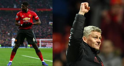 Manchester United cling on to a 2-1 win against Brighton to climb above Arsenal