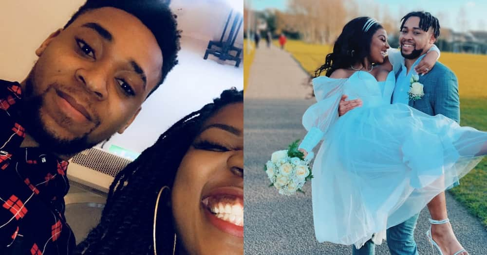Lady Celebrates Saying 'I Do' on the Same Day 3 Years After 1st Date