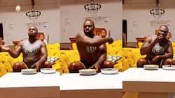 Ugali Jones: Khaligraph Hilariously Mimics Ugali Man's Eating Style in Entertaining Video