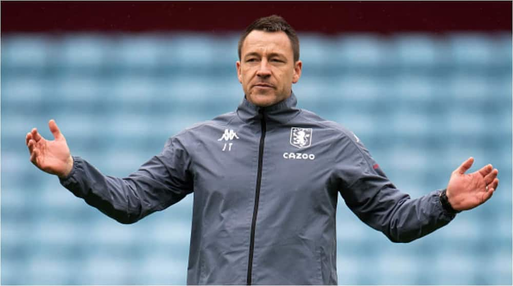 A file photo of John Terry during his time at Aston Villa as assistant manager. Photo: Visionhaus.