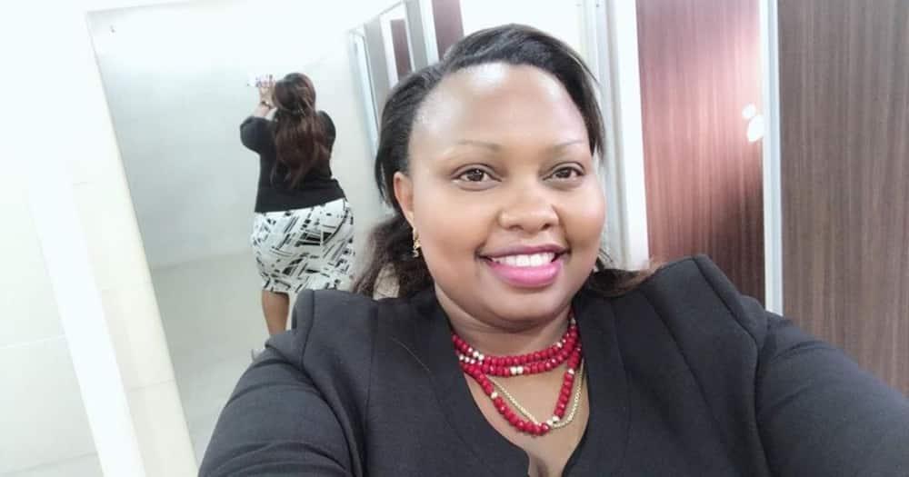 Jubilee Party nominated senator Millicent Nyaboke Omanga. Photo: Millicent Omanga.