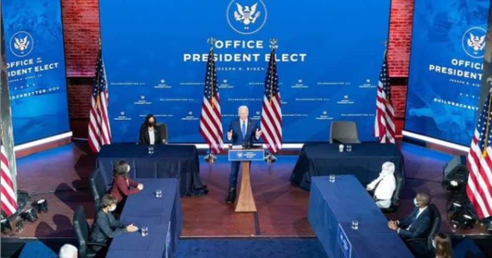 Rais Mteule Joe Biden sasa atumia kiatu maalum cha chuma baada ya kuvunjika mguu