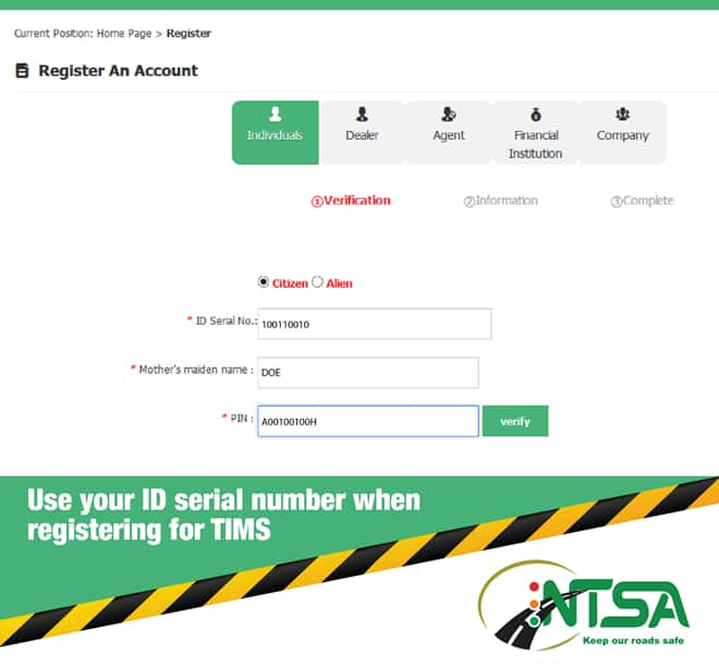 How to replace a lost logbook in Kenya
