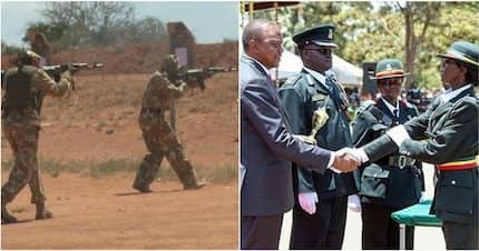 Rare video of Kenyan special forces' combat training in Ruiru