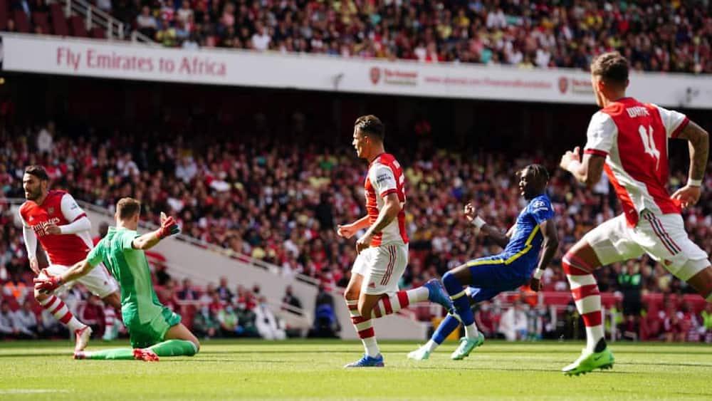 Arsenal vs Chelsea: Blues Wasajili Ushindi wa Kwanza Dhidi ya Gunners Tangu 2019