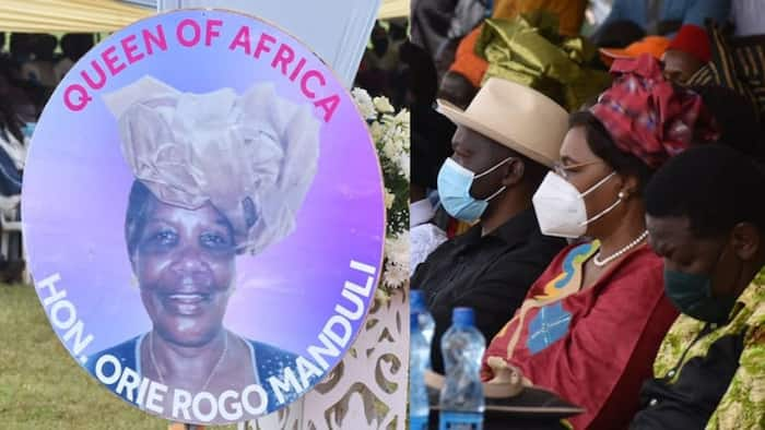 5 Emotional Photos from Burial of Orie Rogo Manduli in Kitale