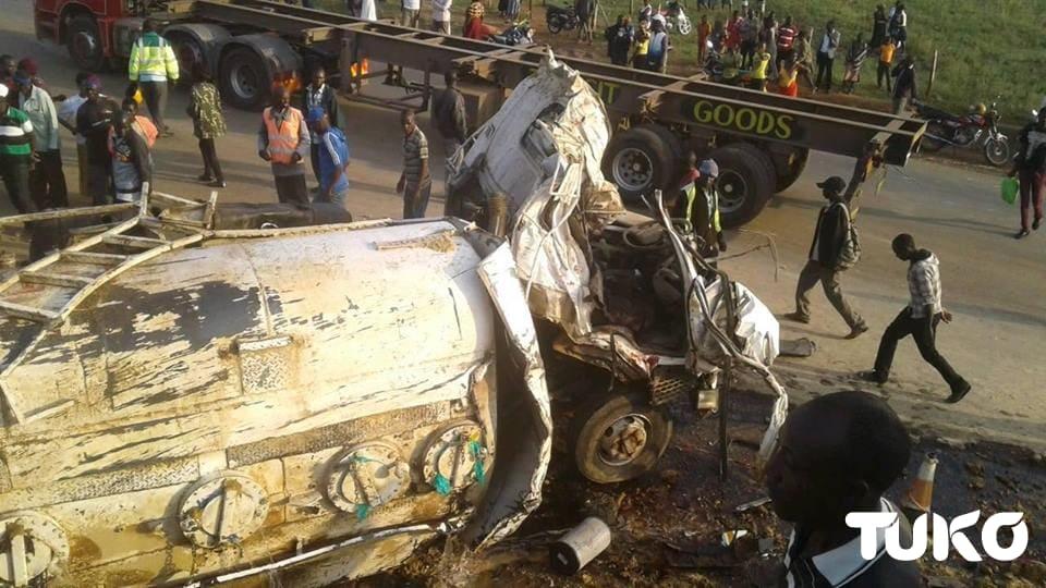 11 die in road accident at Kaburenge junction along Eldoret-Webuye Highway