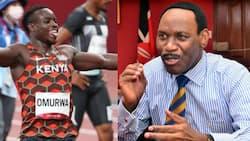Ezekiel Mutua Praises Ferdinand Omanyala for His Inspiration, Asks God to Protect Him