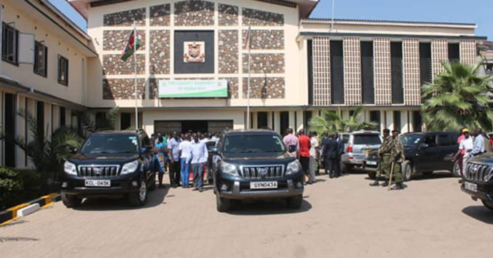 The payment error left close to 3,000 other employees without salaries. Photo: Homa Bay County.