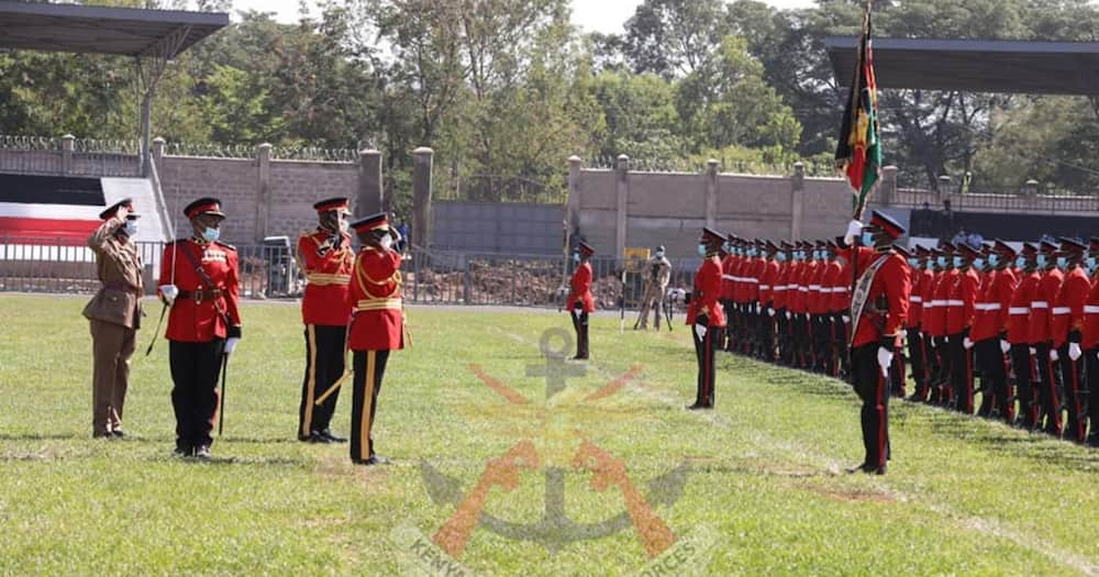 Kisumu: Kenya Navy Officer Collapses During Madaraka Day Celebrations