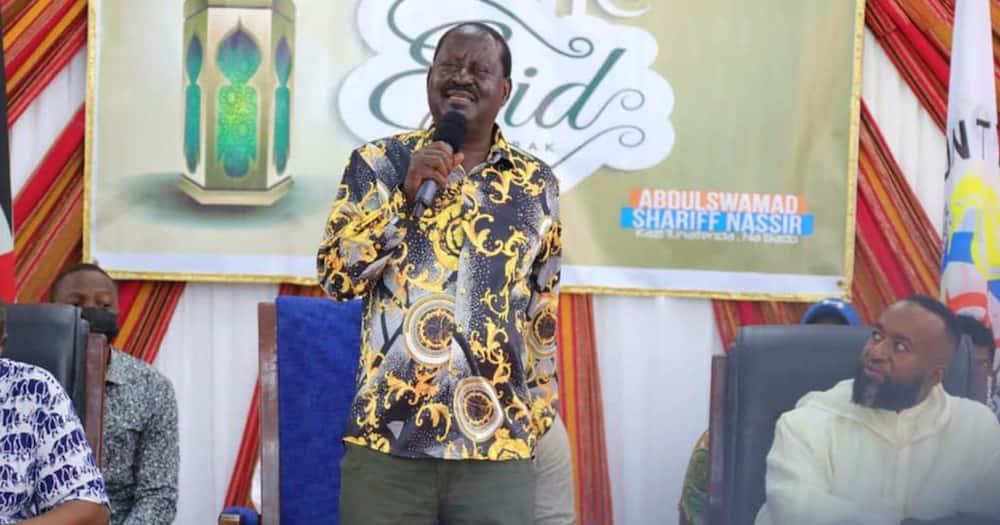 Former prime minister Raila Odinga. Photo: Raila Odinga.