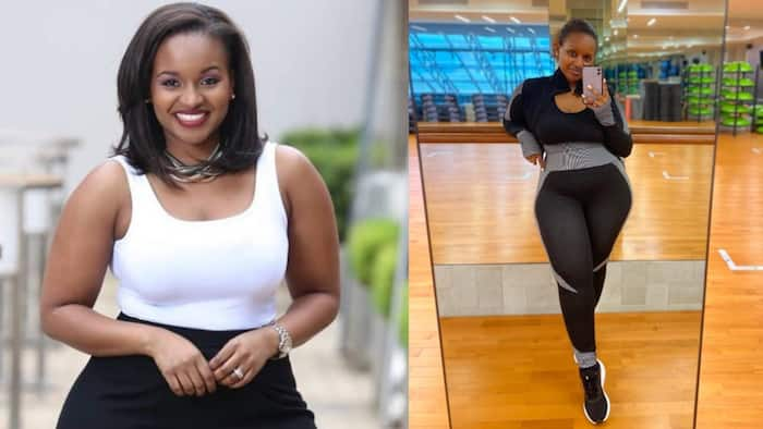 Grace Msalame Shows Impressive Physique After Work-Out at Gym
