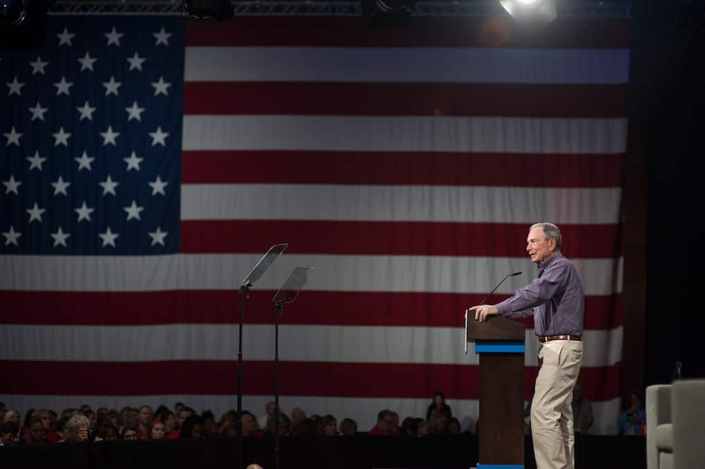 Billionaire Mike Bloomberg officially enters US presidential race