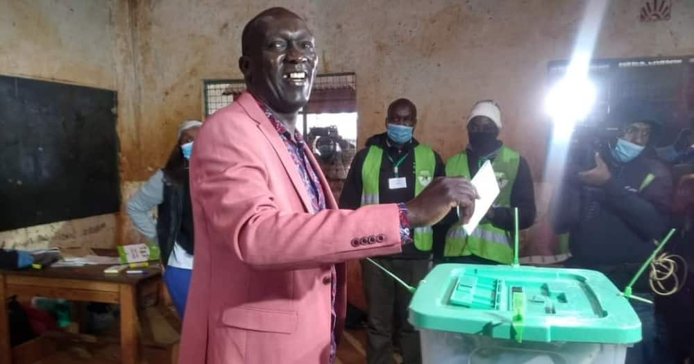 Jubilee candidate Kariri Njama has decried rigging.