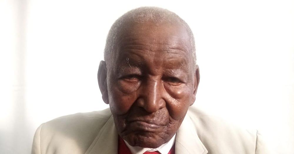 Veteran politician George Wilson Nthenge. Photo: Citizen.