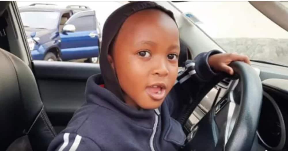 Ayub Muigai: Video ya Mtoto wa Miaka 8 Akiendesha Prado Yawasha Moto Mtandaoni