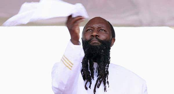 Prophet David Owuor followers claim to have witnessed sun clap at him during Nairobi crusade