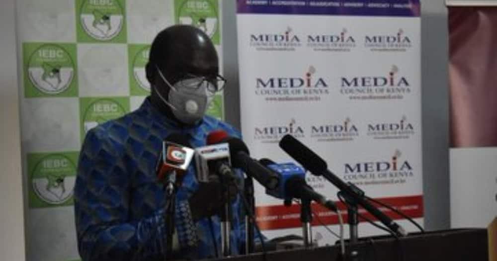 IEBC Chairman Wafula Chebukati. Photo: IEBC.