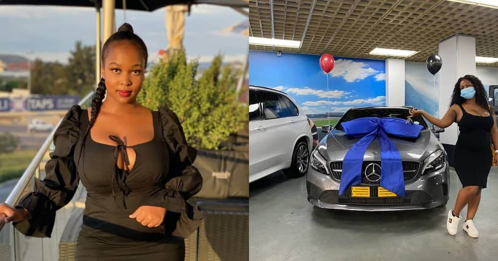 Generous mum surprises her daughter with Mercedes Benz as pre-birthday gift