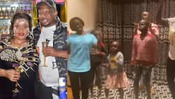 Mike Sonko's Adopted Son, Grandkid Honour Him Through Song and Dance for Father's Day