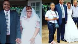 Mamake Nyota wa Tahidi High OJ Afunga Ndoa Akiwa na Miaka 60