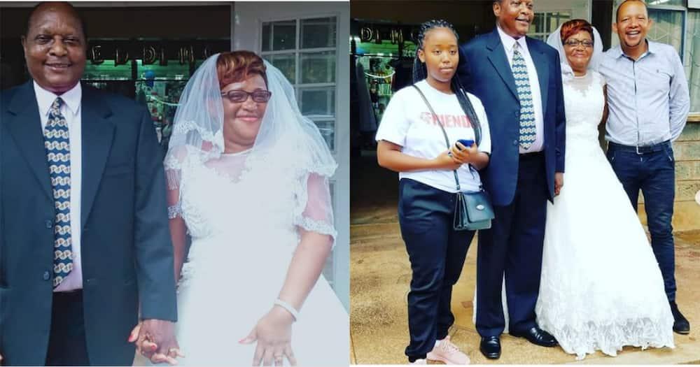 Godspeed: Tahidi High Star OJ's Mother Gets Married Aged 60 Years