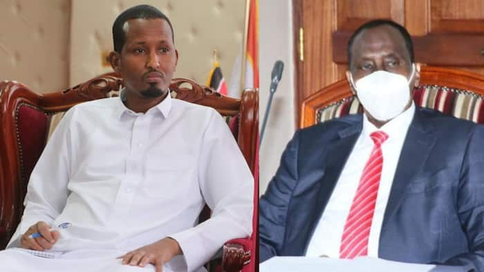 DCI Summons Ousted Wajir Governor after He Sneaked Back in Office on Tuesday
