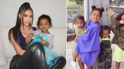 Kim Kardashian West and Her Babies Tested Positive for the Coronavirus