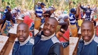 "Kenyan Men Dressed in Lesos Happily Dance As They Prepare Chapatis: ""Only in Ukambani"""
