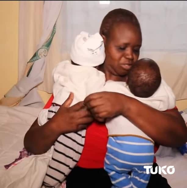 Githurai man who got triplets after 21 years says dad asked him to marry another woman
