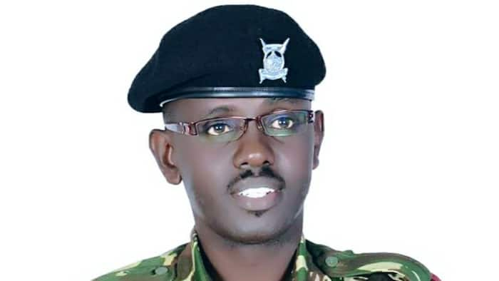 """Sammy Ondimu Tells Off Follower Who Questioned His Rank In Police Service: """"It's About Peace Of Mind"""""""