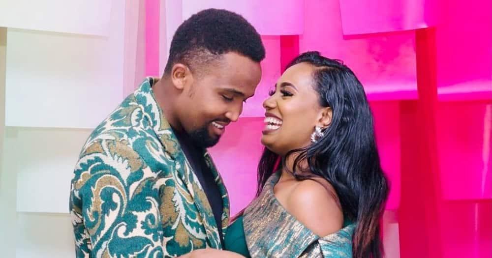 Pascal Tokodi Surprises Wife Grace Ekirapa With Cute Fruit Cake on Her Birthday While on Holiday