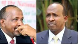 Former national assembly majority leader Aden Duale losses mother
