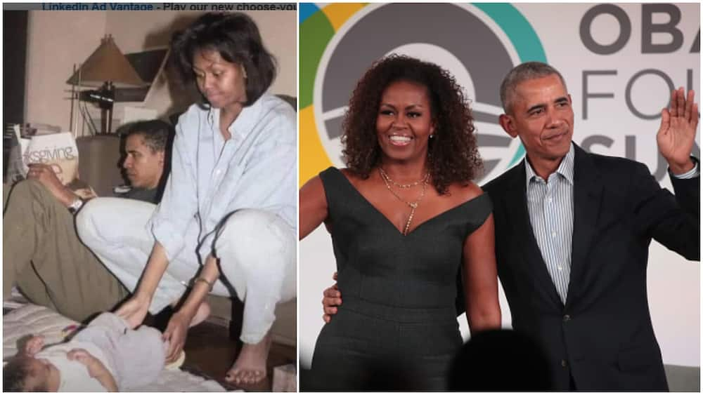 Throwback Photo of Barrack Obama, Wife and Kid Living a Humble life in 'Small' Apartment Stirs Reactions