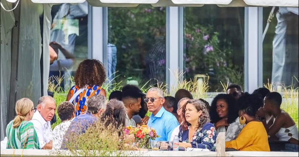 Among the attendees at Obama's brunch was media personality Oprah Winfrey.