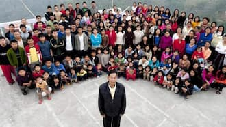 Ziona Chana: Man with 39 Wives, 94 Children Dies in India