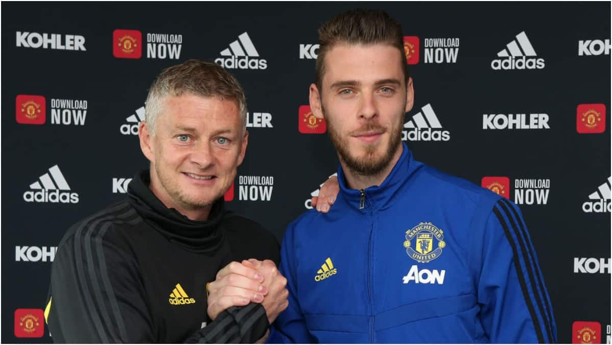 David de Gea signs new 3-year contract with Man United until 2023 ▷ Kenya News