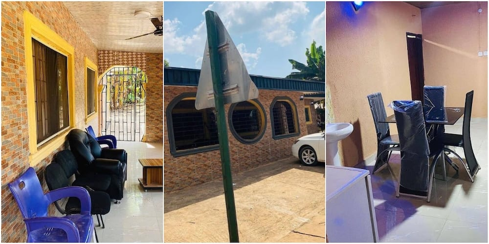 Young Man Receives Huge Praises Online after Building 5-bedroom House for His Mum; Shares Adorable Photos